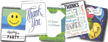 Thank You Notes & Invitations
