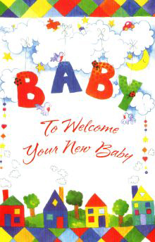 Wholesale Baby Greeting Cards