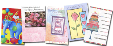Wrapped Wholesale Greeting Cards Line