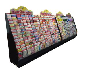 Greeting Card Rack Display
